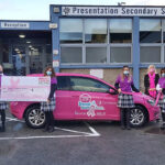 Pres Castleisland Transition Year Students Keep Breast Cancer Ireland in Mind