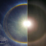 Did You See the Rings around the Moon Last Night ?