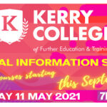 Kerry College to Hold Virtual Information Sessions this May 11th.