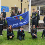 David Clifford Helps Curranes N.S. Raise Its Second Active School Flag