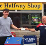 Andrew Wins €820 as Seán Collects his €1,000 Split the Bucket Cheque