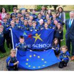 MEP Seán Kelly Celebrates Two Flag Awards at Loughfouder National School
