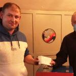 Gene Takes Split the Bucket €1,031 Prize Back to Ballymac