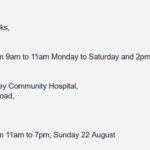 Walk-in Covid-19 Testing in Killarney – Appointments not Necessary
