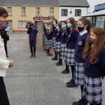 Presentation Castleisland Receives Minister Norma Foley to Celebrate Leaving Cert Results