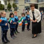Ballymacelligott Schools Roll Out a Céad Míle Fáilte for Minister Norma Foley
