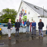 Culture Night Celebrations for Emma's CD and New Mural in Scart
